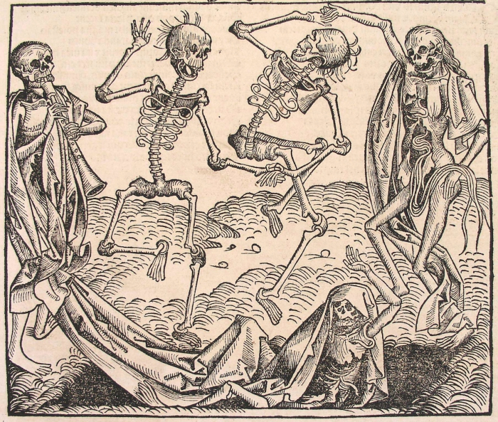 Michael Wolgemut, Dance of Death, from Liber chronicarum di Hartmann Schedel, 1493