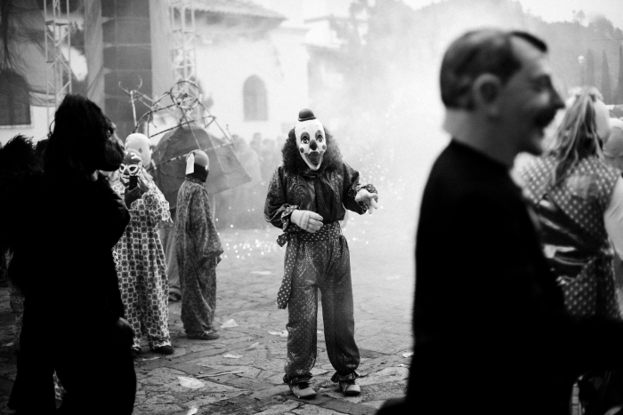 San Lorenzo Zincantán, August 10th, 2014In a little valley on the central plateaus of the state of Chiapas in Mexico, people of Mayan origin celebrate their saint with a masquerade organized in front of the Church of San Lorenzo.