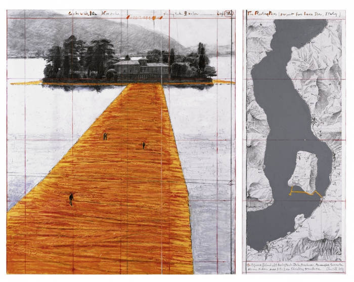 The Floating Piers (Project for Lake Iseo, Italy) © Christo / Photo: André Grossmann