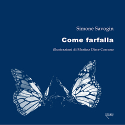 comefarfalla Savogin COVER
